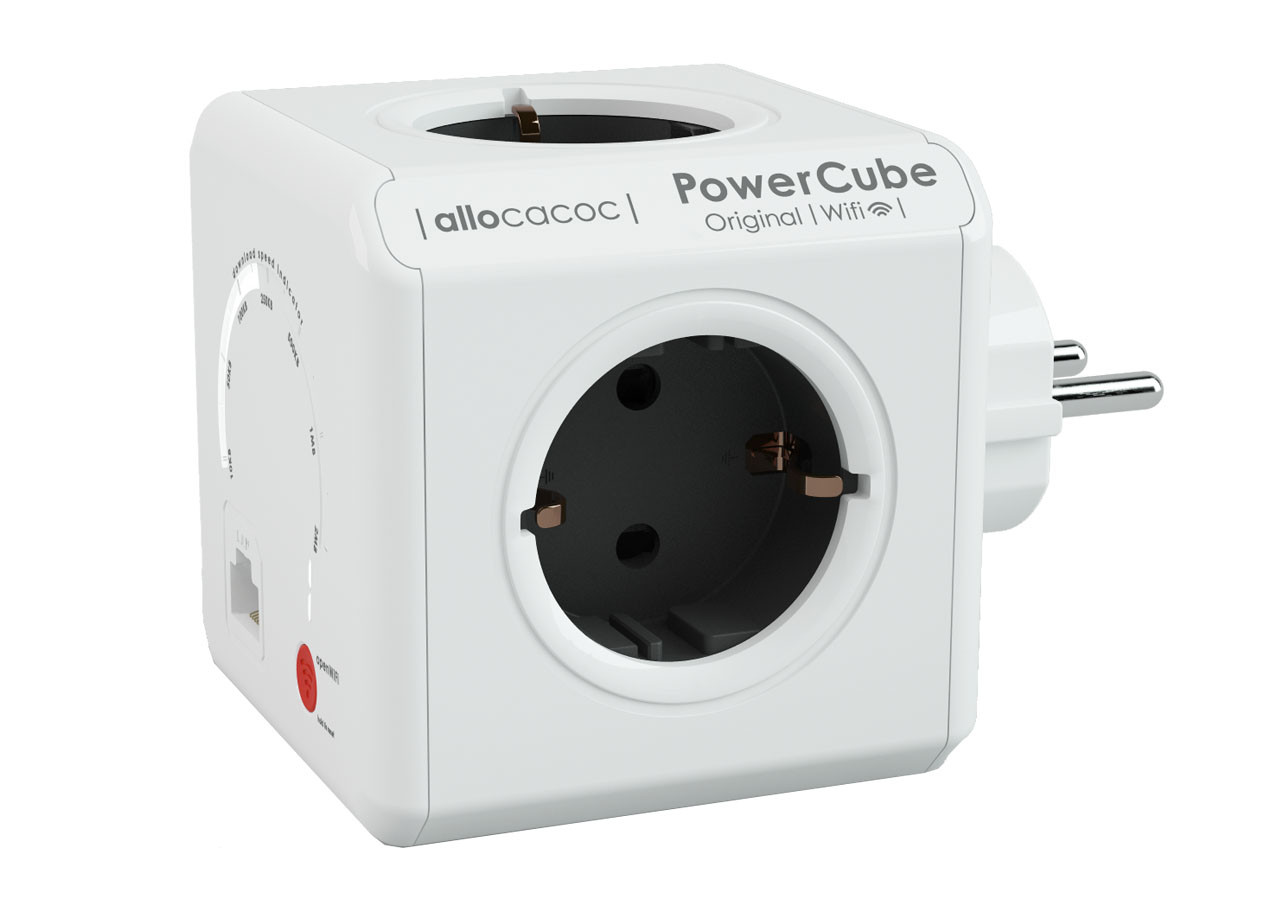 Разклонител Power Cube WiFi 9610 4 гнезда