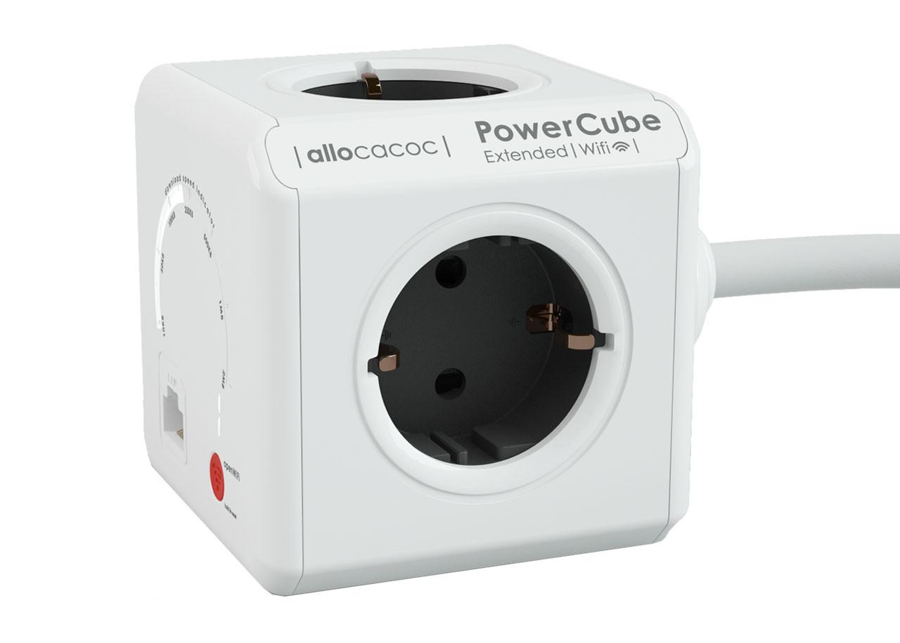 Разклонител Power Cube WiFi 9710 4 гнезда 1.5м кабел