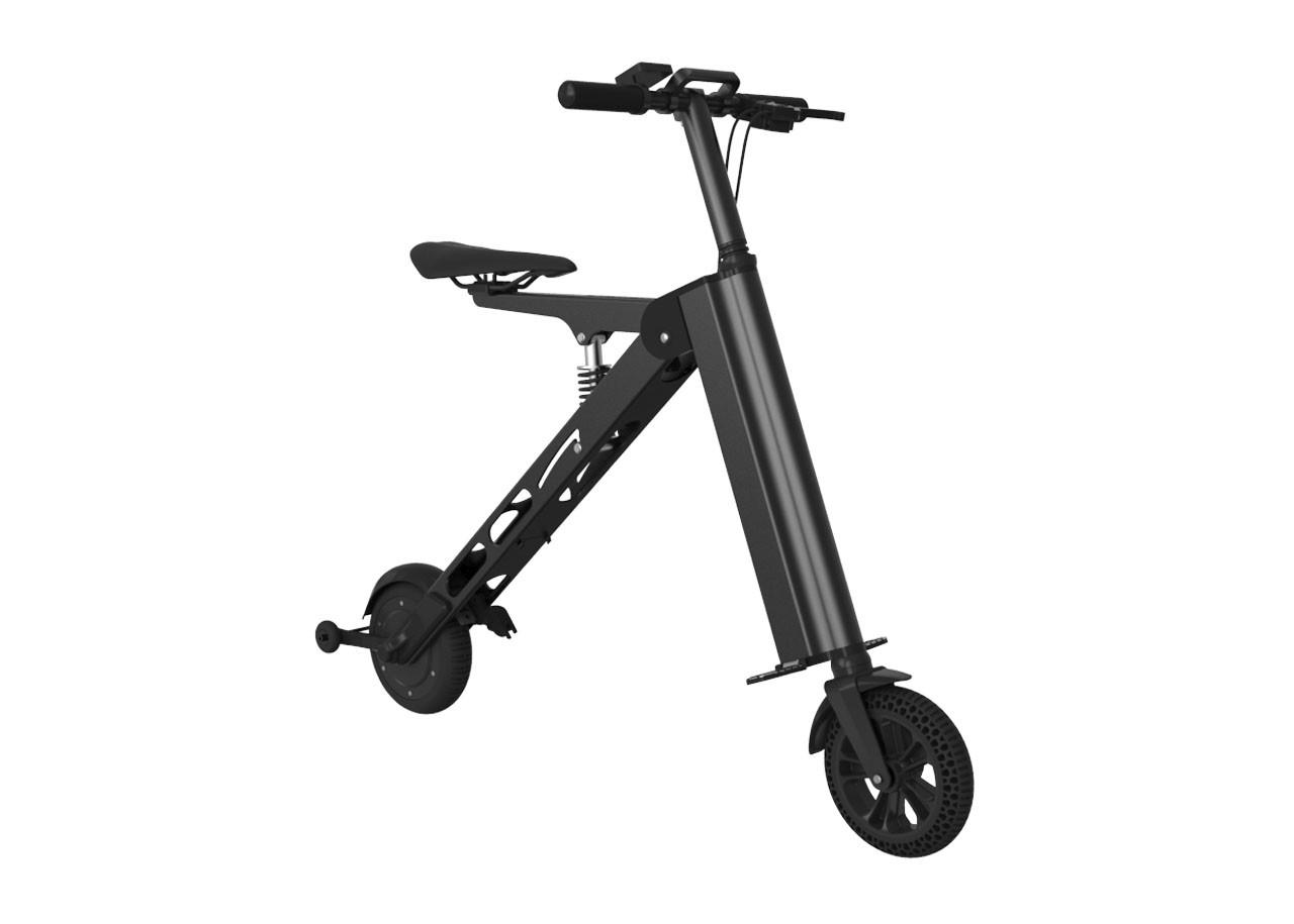eScooter Сгъваем 10520BK; ЧЕРЕН