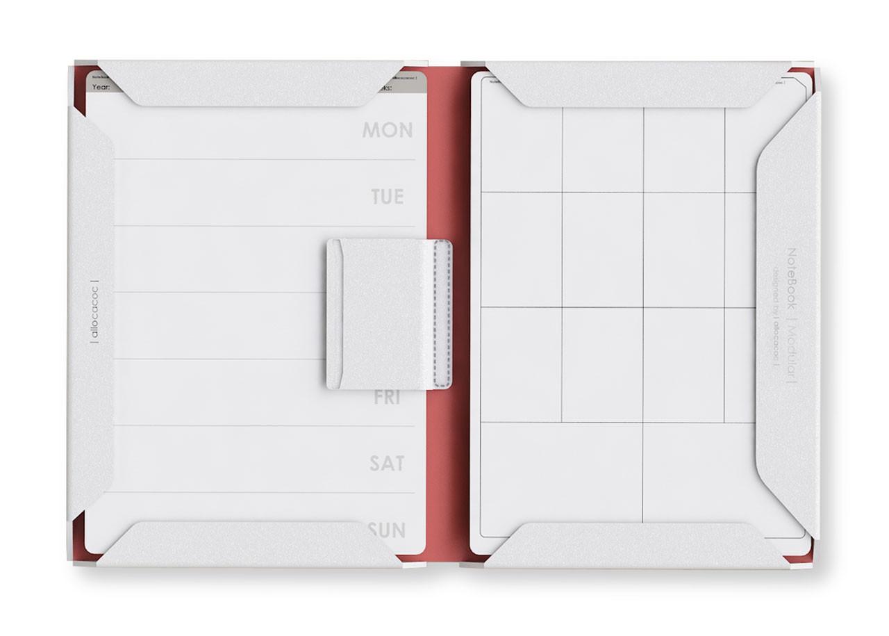 Модулна Тетрадка 10370 A4 PU; БЯЛ