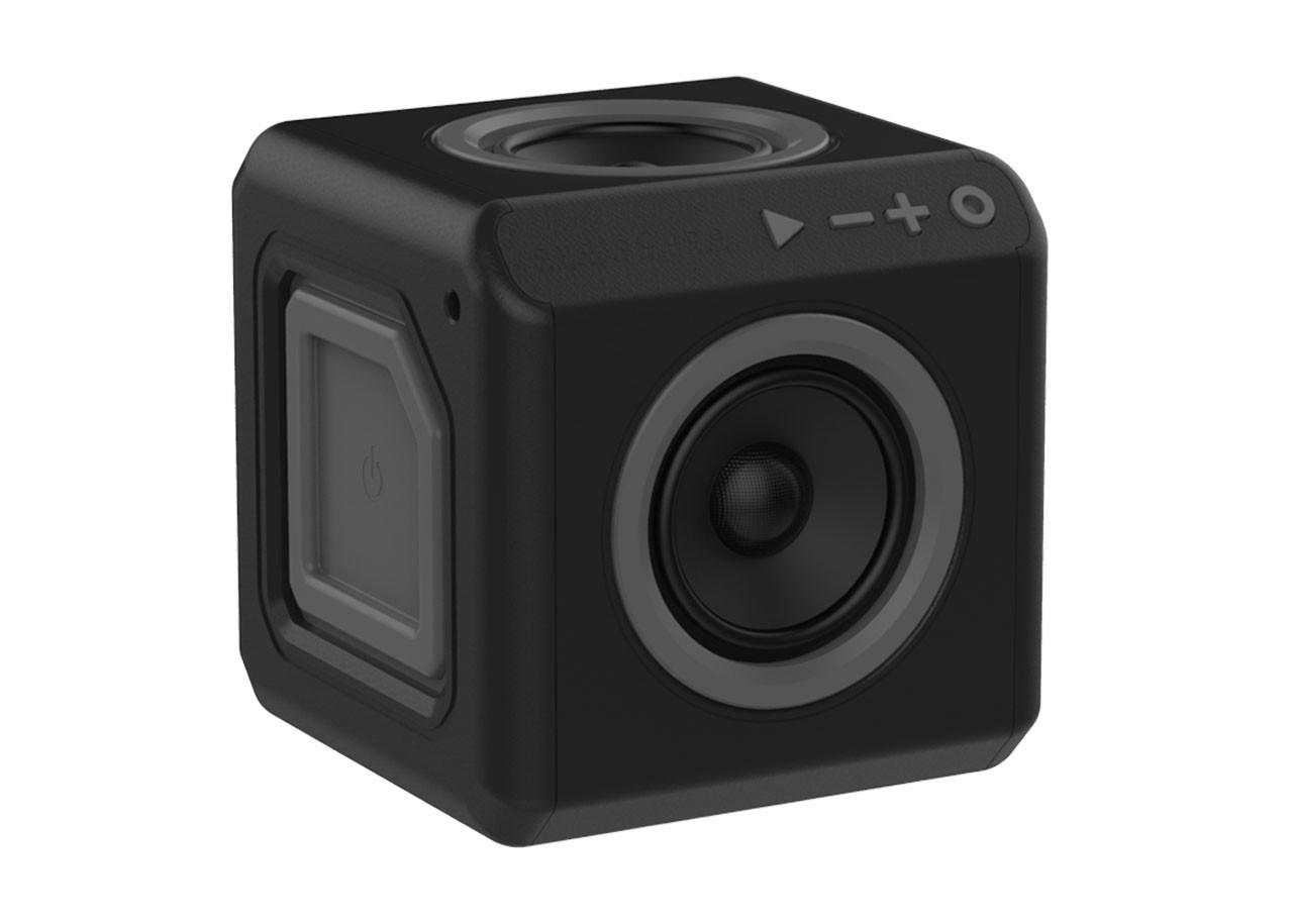 Портативен говорител Power Cube 3902BK с батерия