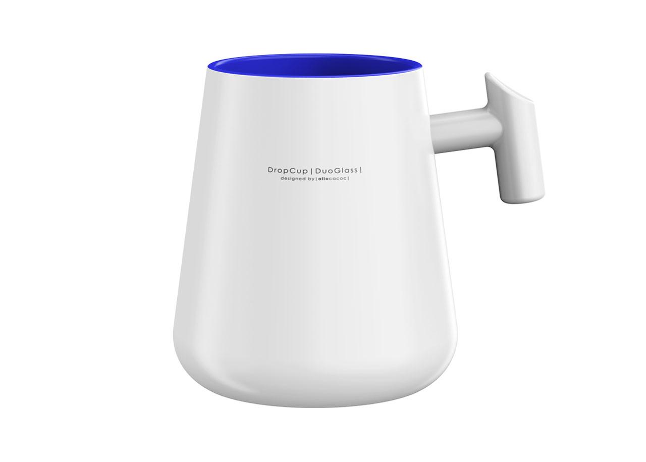 Чаша DropCup Mug + дръжка 290мл 10691BL - СИНЯ