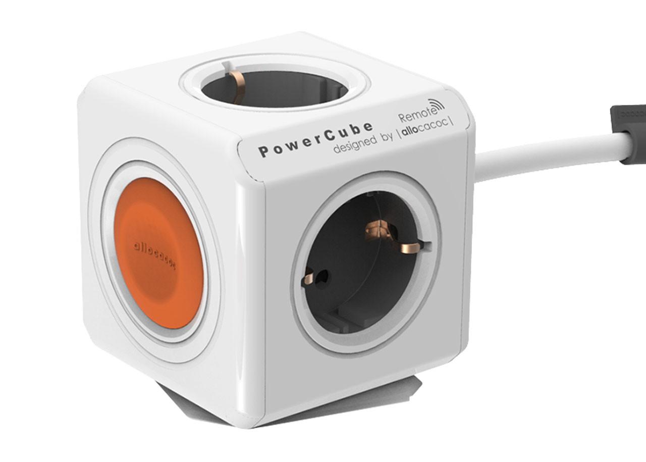 Разклонител Power Cube 1513WT - 1.5м кабел - единичен