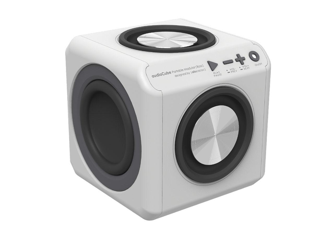 Портативен говорител AudioCube 10714WT Modular Bass с батерия