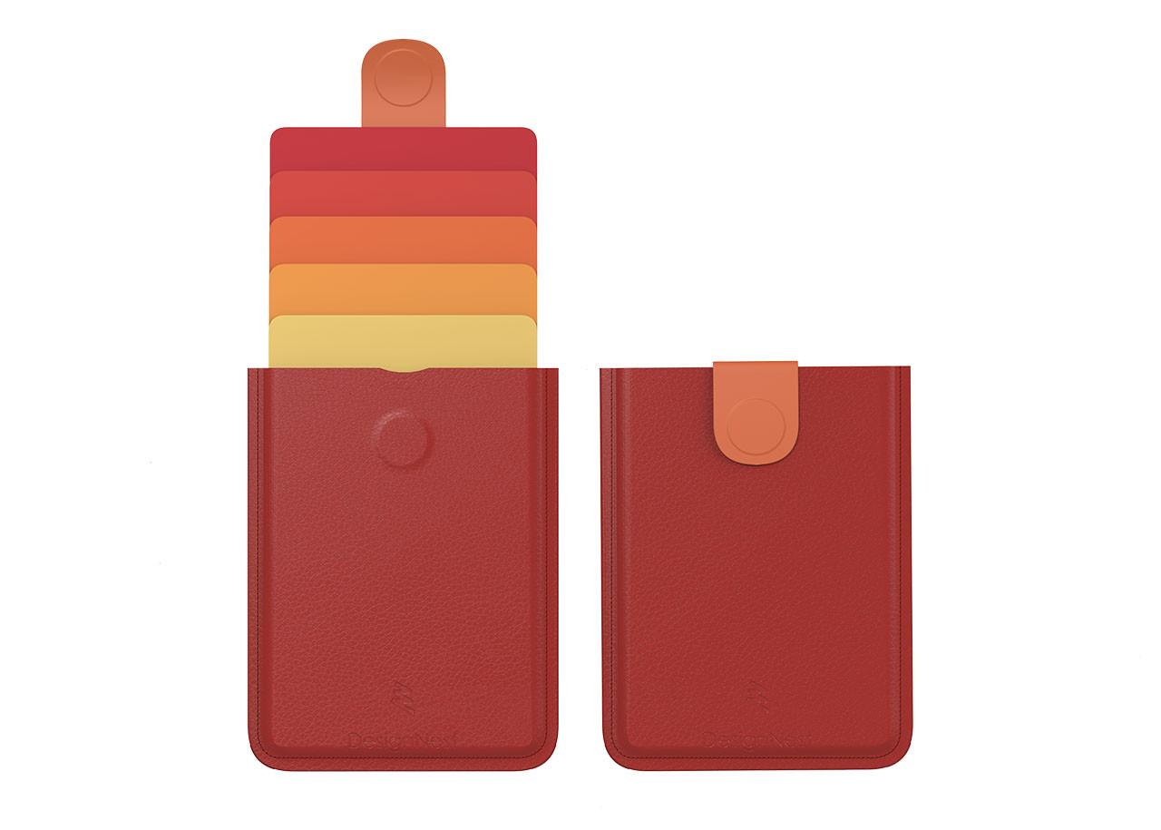 Портфейл DAX Изкуствена кожа - DH0110 Червен