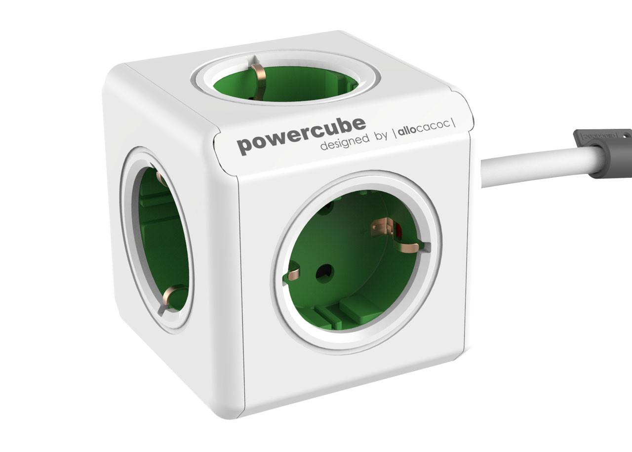 Разклонител Power Cube 1300GN 5 гнезда - 1.5м кабел