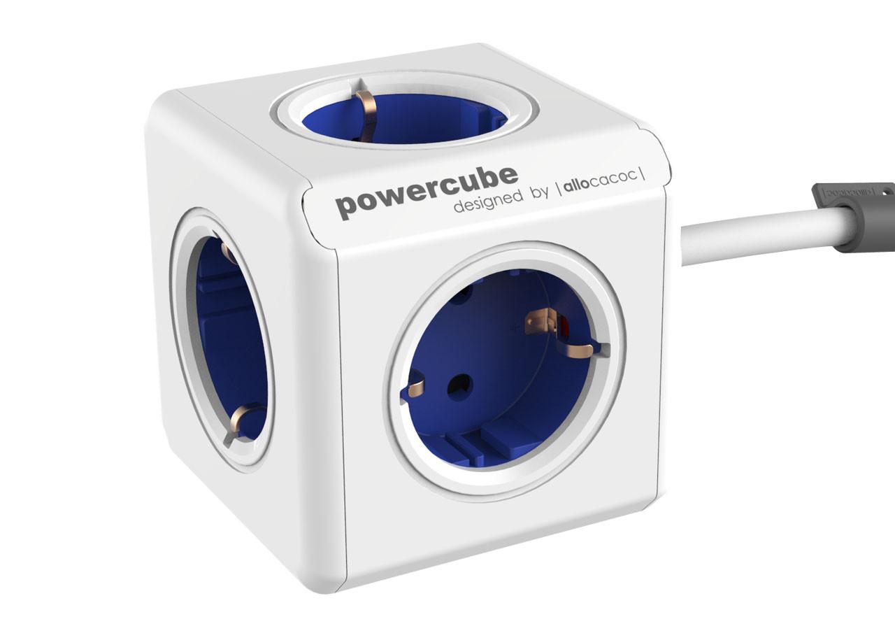 Разклонител Power Cube 1300BL 5 гнезда - 1.5м кабел
