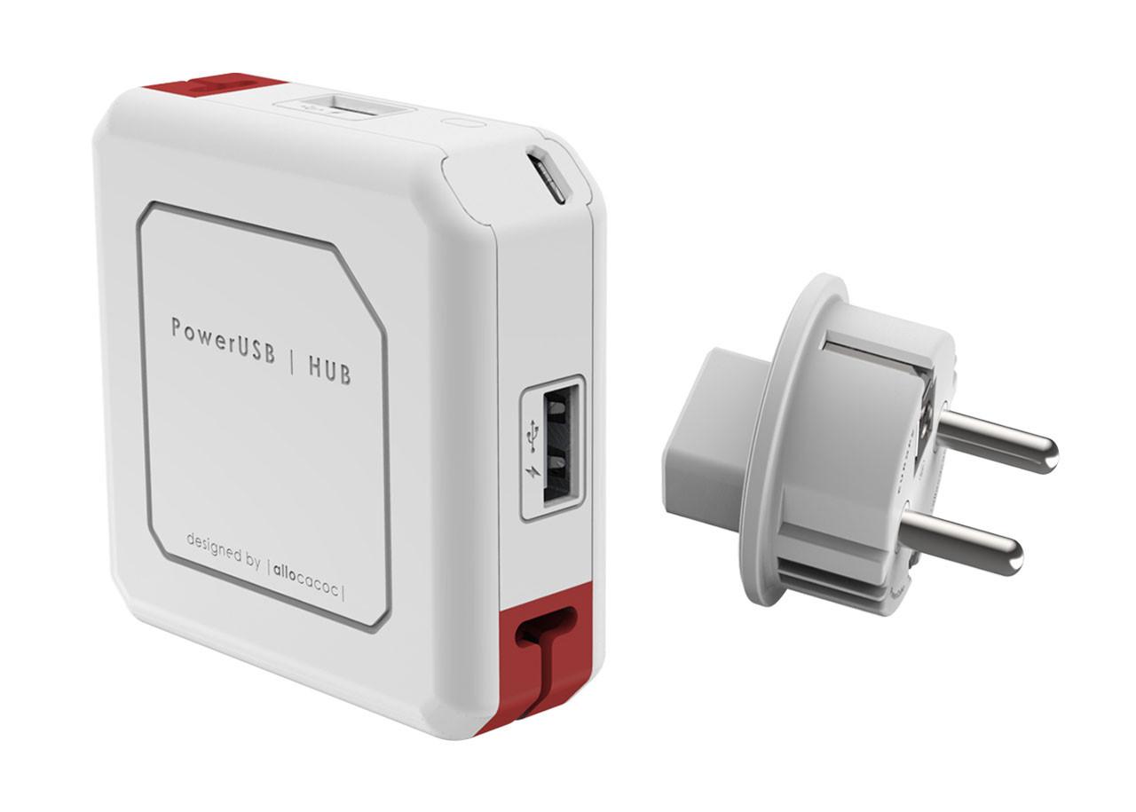 USB hub 9302 - 4x USB - 1x MicroUSB
