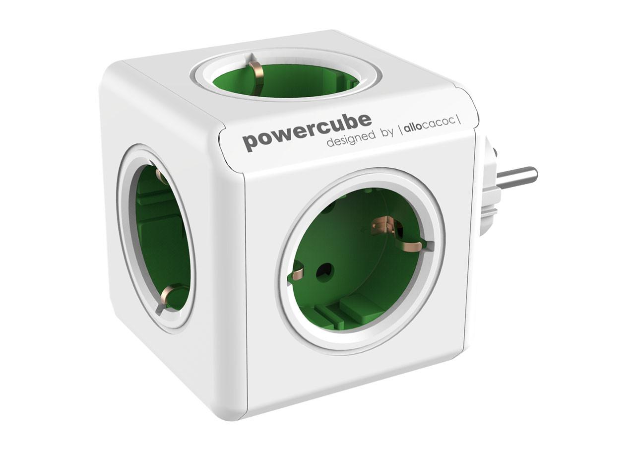 Разклонител Power Cube 1100GN 5 гнезда