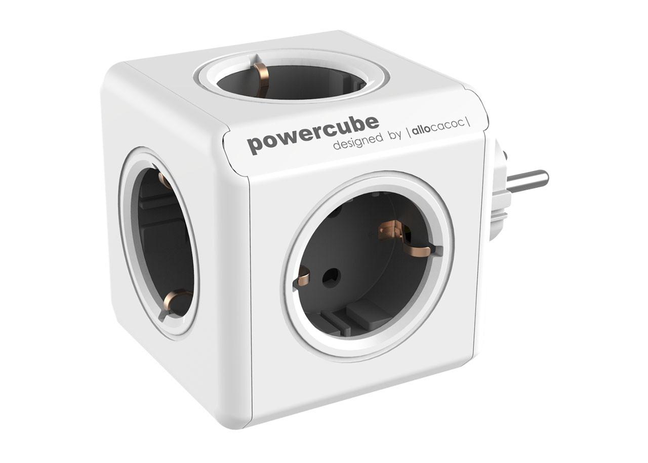 Разклонител Power Cube 1100GY 5 гнезда