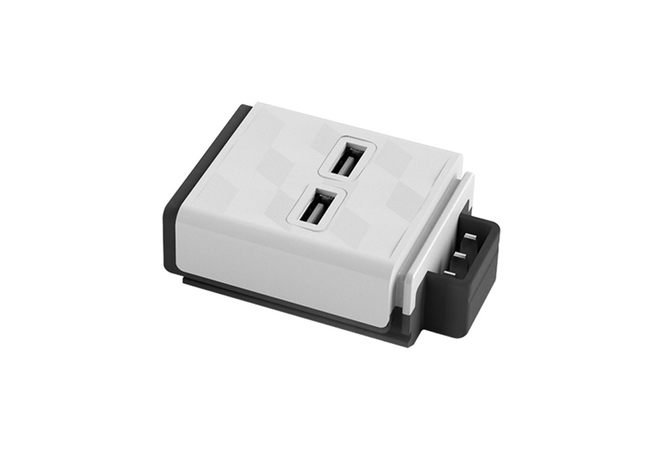 Модул за разклонител Power Strip 10096 2xUSB